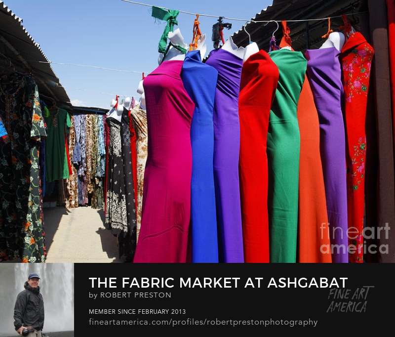 Ashgabat Sunday market