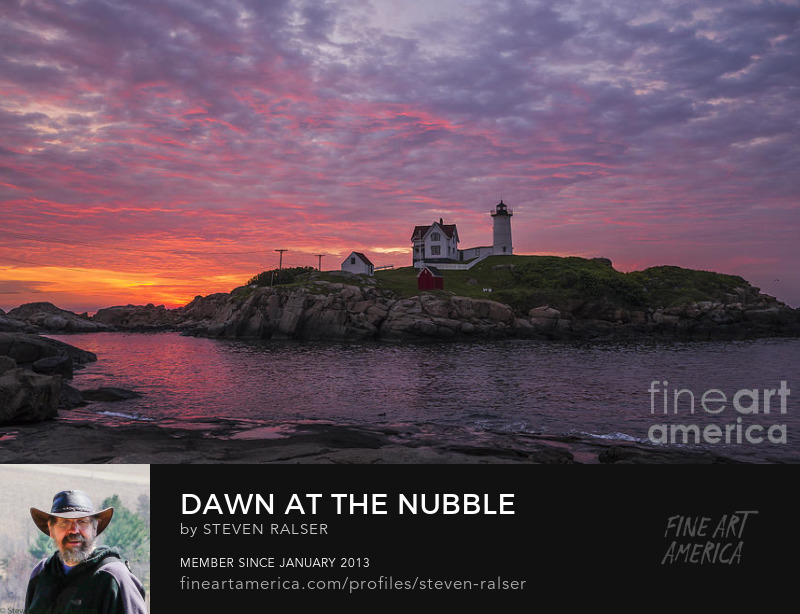 Dawn at the Nubble, York, Maine