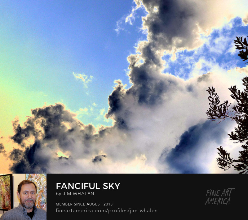 Fanciful Sky, by Photograph by Jim Whalen