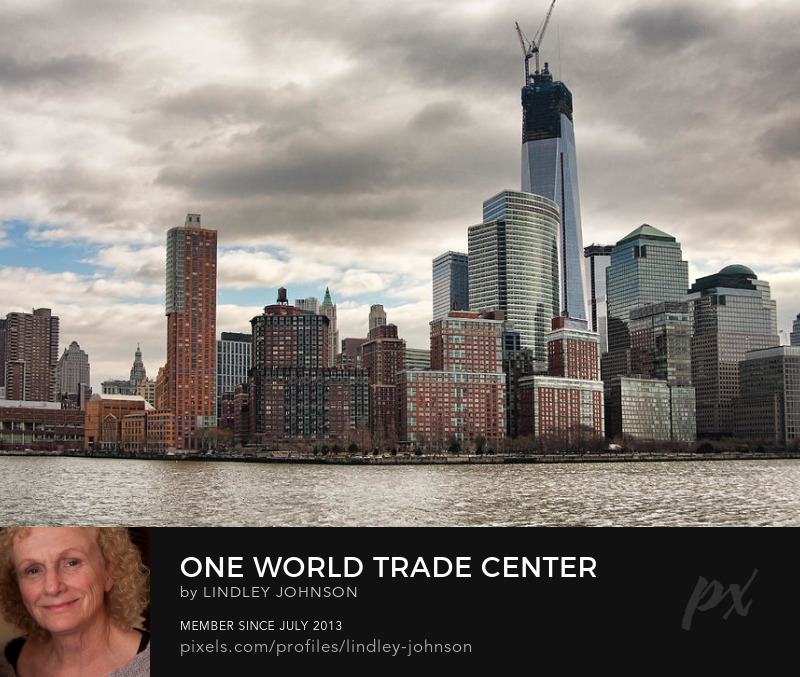 one world trade center new york photograph by lindley johnson