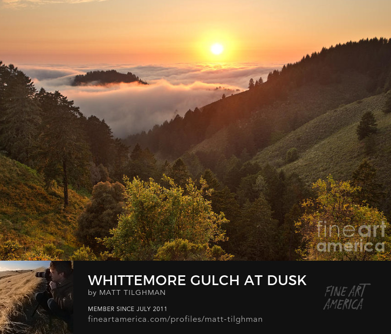 Whittemore Gulch California Photography Prints