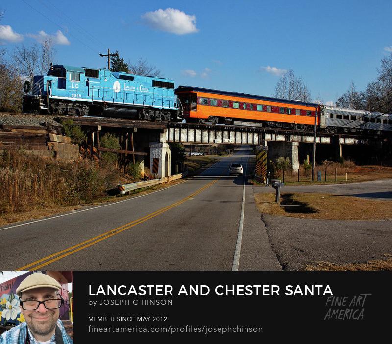 lancaster chester railroad santa train joe hinson