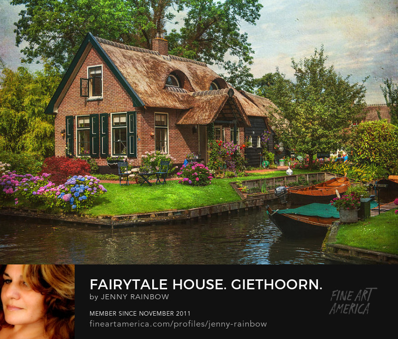 Fairytale House. Giethoorn. Venice Of The North by Jenny Rainbow
