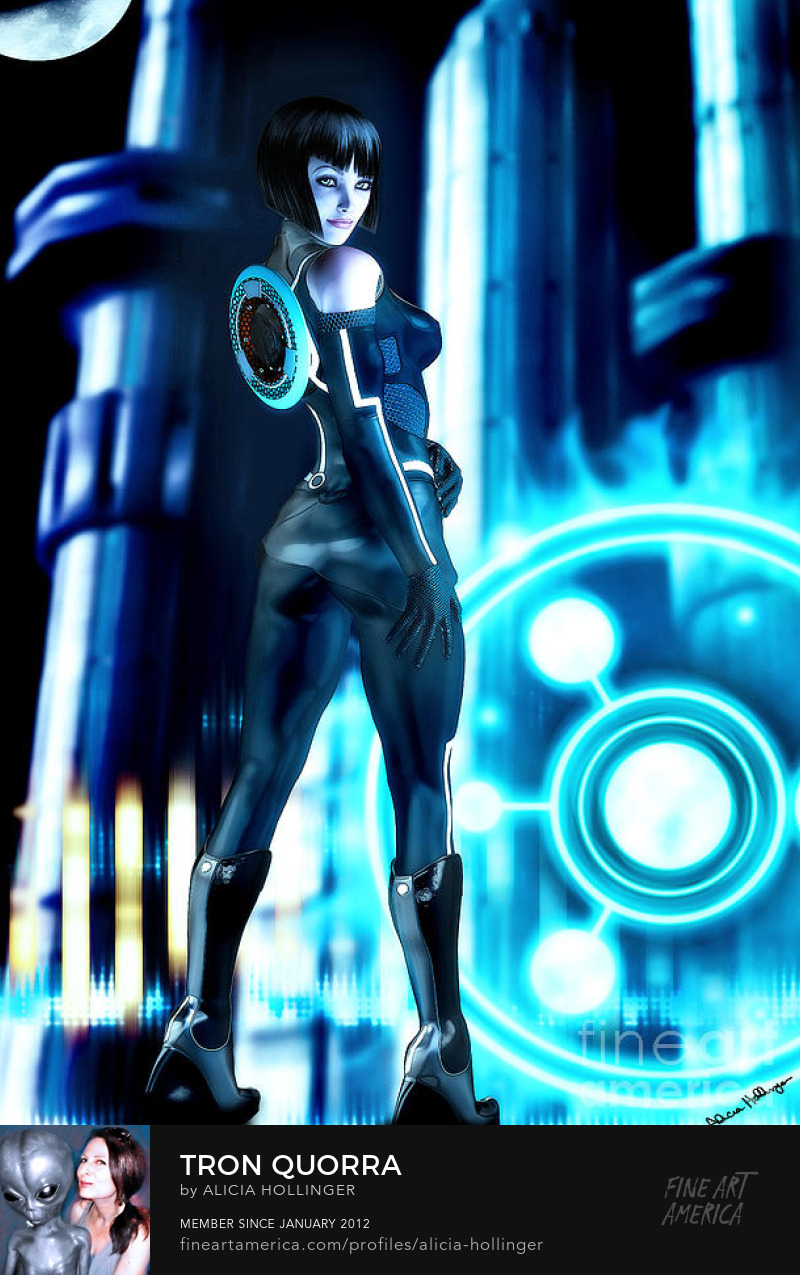 Tron Quorra by Alicia Hollinger