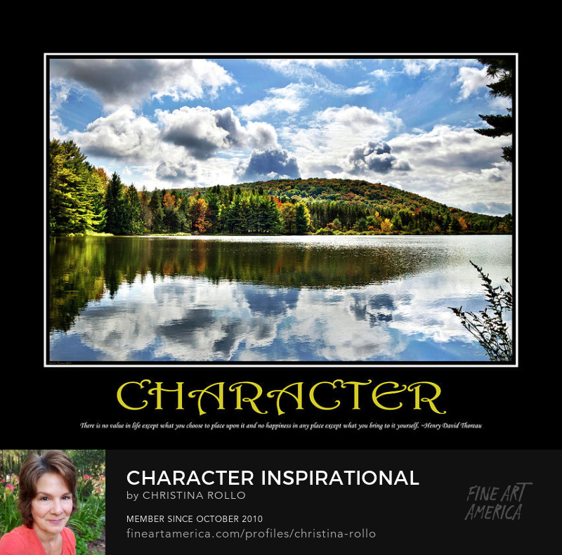 Character Inspirational Motivational Poster Art