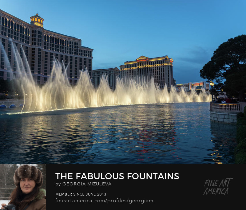 Fabulous Fountains at Bellagio Las Vegas Georgia Mizuleva Photography