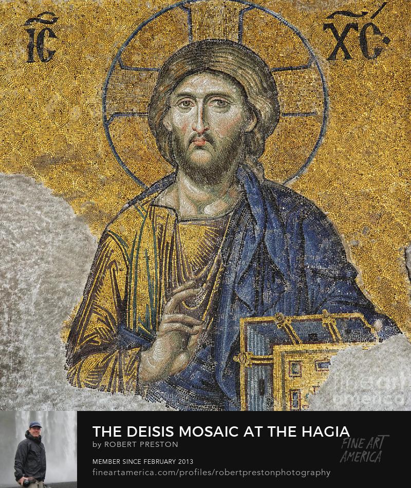 Hagia Sophia Deisis mosaic