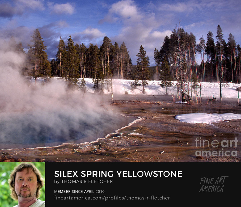 Silex Spring, Yellowstone National Park