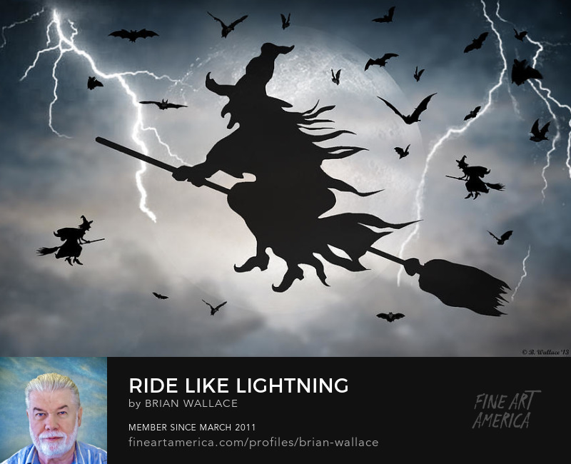 Ride Like Lightning by Brian Wallace