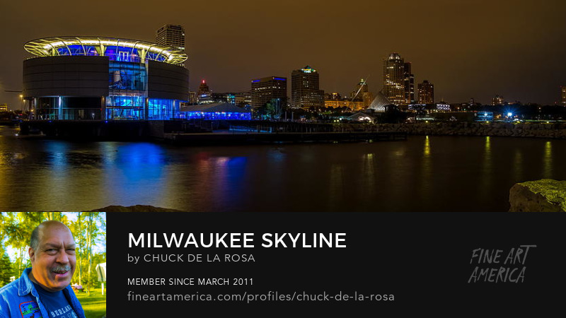 Milwaukee Art Museum Milwaukee Skyline Chuck De La Rosa