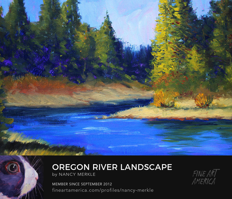 Oregon Landscape Painting