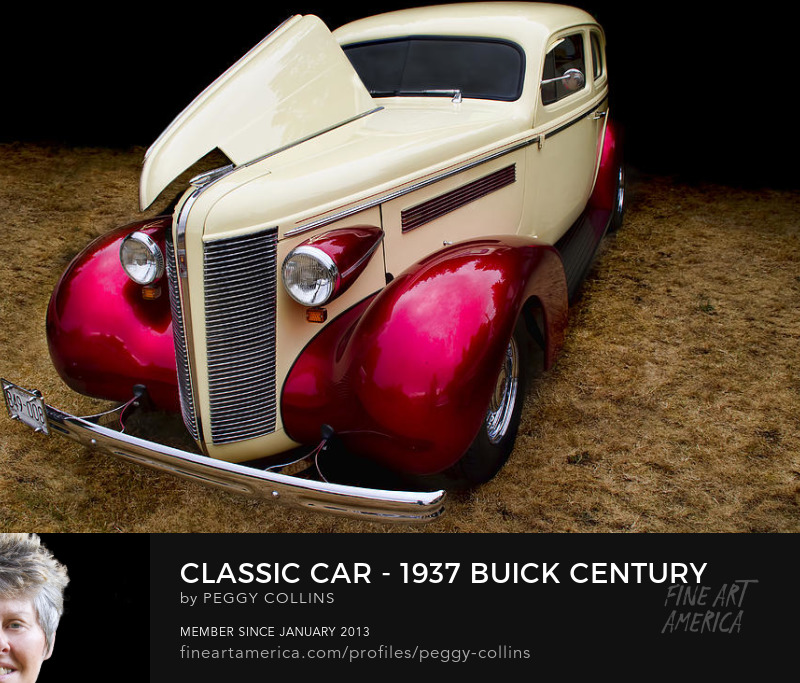 classic car 1937 buick century photograph by peggy collins