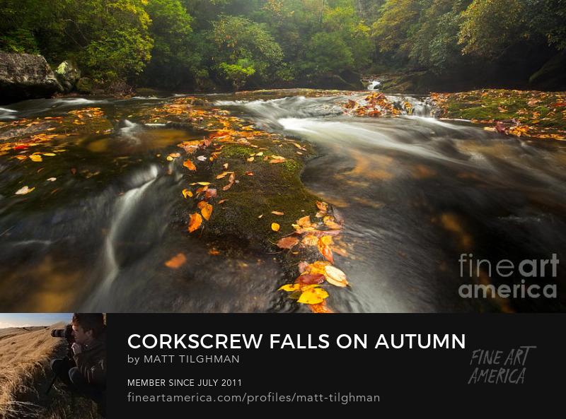 Corkscrew Falls Chattooga River Art Prints