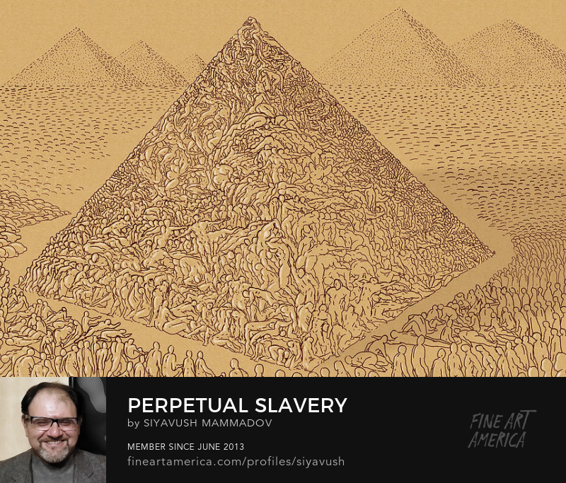 perpetual slavery digital drawing by siyavush mammadov