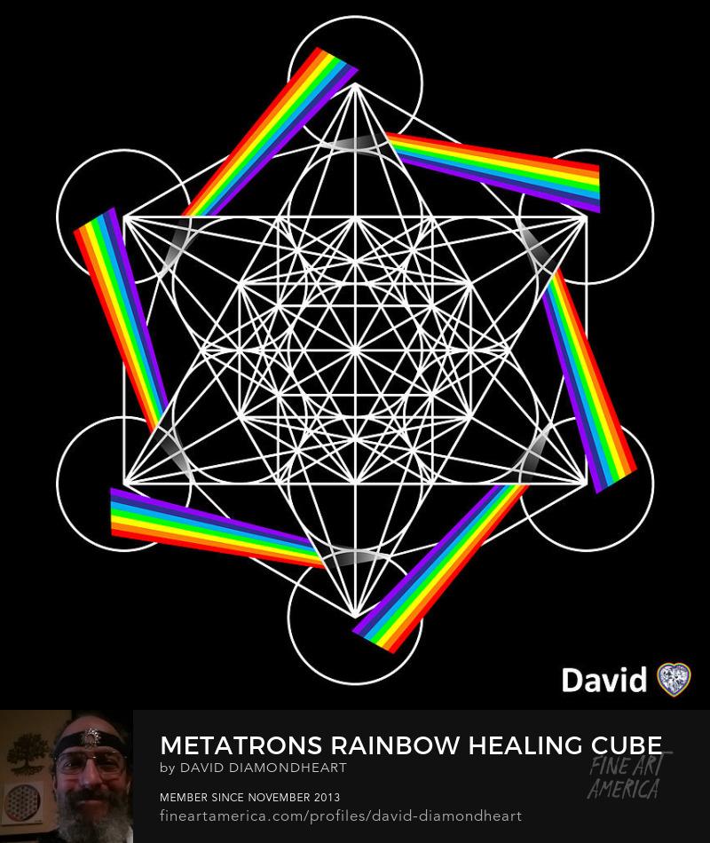 Metatrons Rainbow Healing Cube