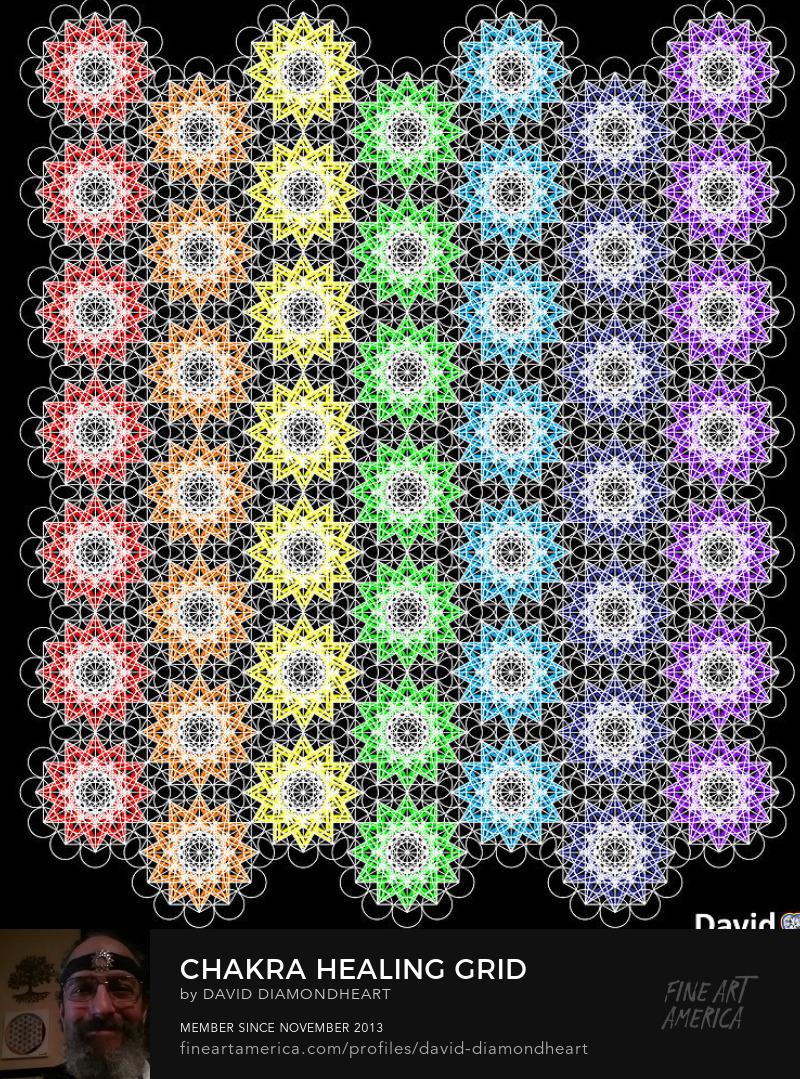 Chakra Healing Grid