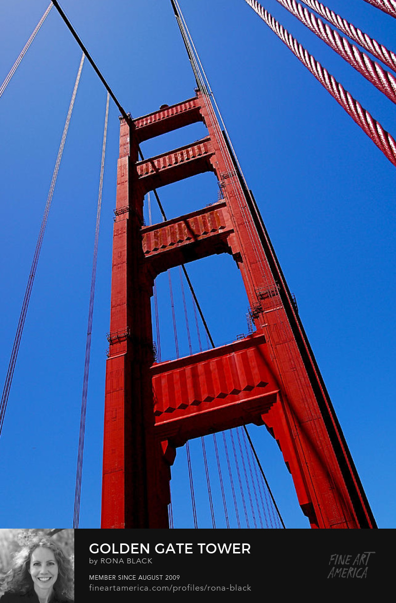 Golden Gate Tower by Rona Black