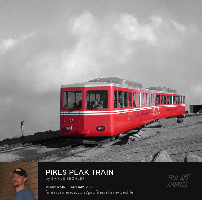 Pikes Peak Train by Shane Bechler