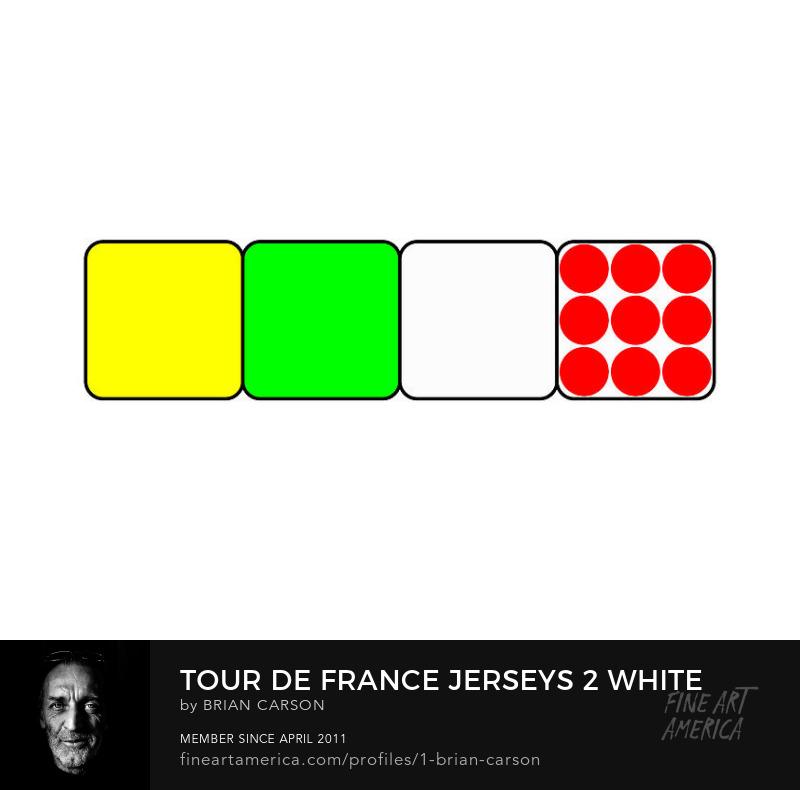 Tour De France Jerseys Alt 1 White