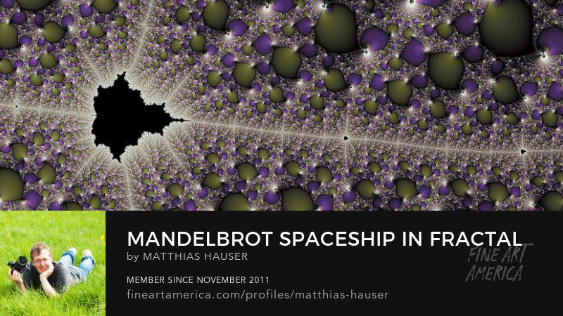 Mandelbrot fractal space