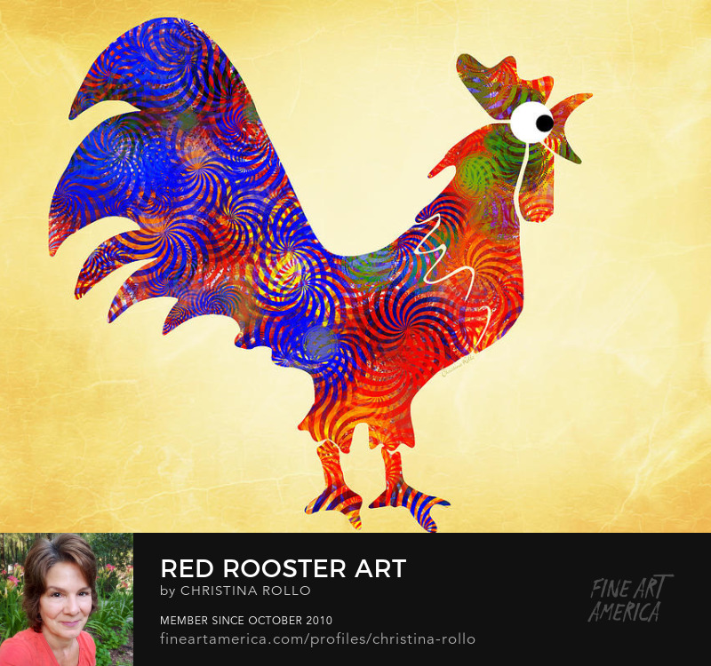 Red Rooster Art