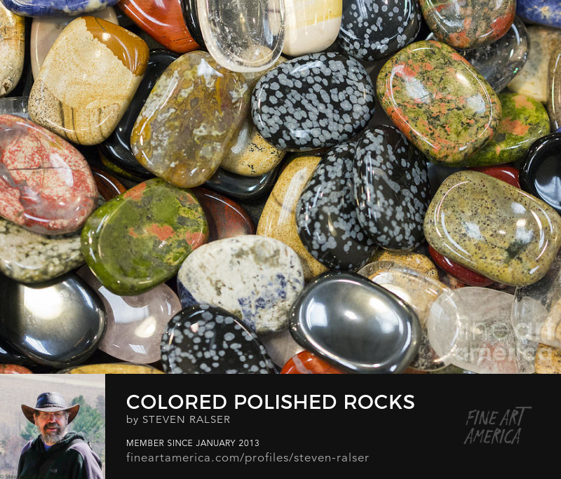 colored and polished rocks