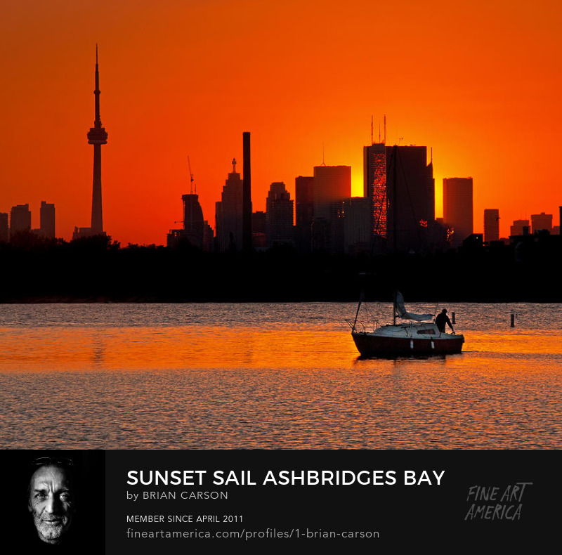 Sunset Sail Ashbridges Bay Toronto Canada