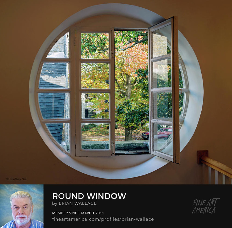Round Window by Brian Wallace