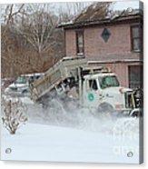 Ohio Snow Plow Acrylic Print