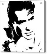 # 1 Gregory Peck Portrait. Acrylic Print