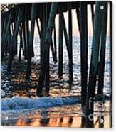 16th Street Pier Acrylic Print