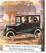 1920s Usa Overland Cars Acrylic Print