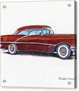 1956 Oldsmobile Super 88 Acrylic Print
