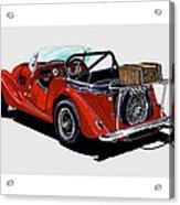 Morgan 4 Plus 4 1961 Acrylic Print