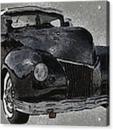 39 Custom Coupe Acrylic Print