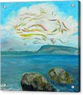 A Cloud Over The Sea Acrylic Print