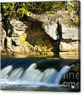 A Quiet Place  Waterfall Acrylic Print