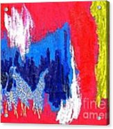 Abstract Tn 005 By Taikan Acrylic Print