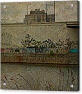 Across The Schuylkill River In Philadelphia - Pennsylvania - Usa Acrylic Print