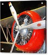 Airplane - F3f-2 Biplane Acrylic Print