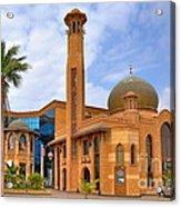 Al Tujjar Mosque Acrylic Print by George Paris