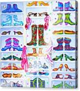 Alaska Berry Fairy Shoon Acrylic Print