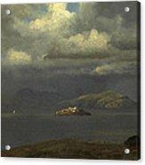 Alcatraz San Francisco Bay Acrylic Print