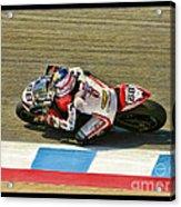 Ama Superbike Dustin Dominguez Acrylic Print