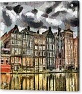 Amsterdam Water Canals Acrylic Print