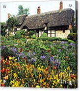 Anne Hathaway's Cottage Acrylic Print