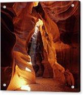 Antelope Canyon Ray Of Hope Acrylic Print