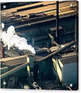 Arcelormittal Dofasco Up Close Acrylic Print