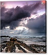 Around The World On A Boat Rock Acrylic Print