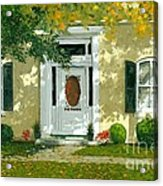 Autumn Sunlight Acrylic Print by Michael Swanson